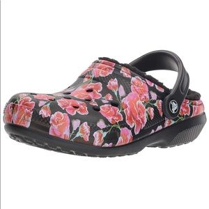 🆕 Crocs Floral Graphic Lined Clog
